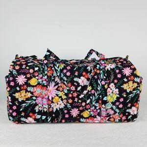 Vera Bradley Large Duffel Bag Tangerine Twist NWT